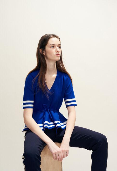 MARLY BIS : Maille & Sweatshirts couleur Indigo