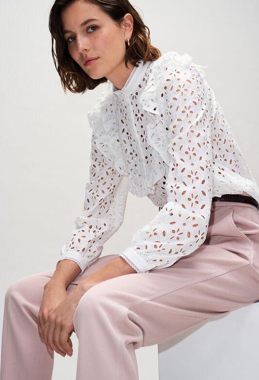 BICHEH19 : Tops y camisas color ECRU