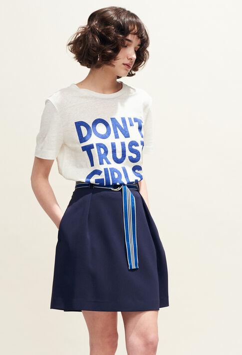 SALVIA : Faldas y pantalones cortos color Outre Mer