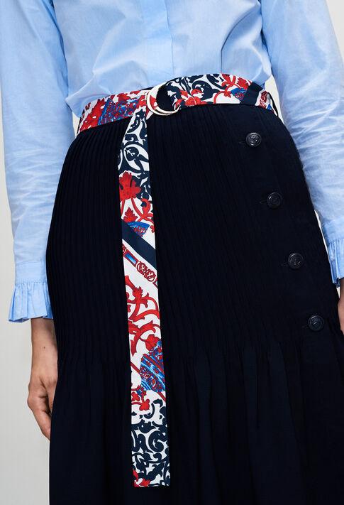 SHADEH19 : Faldas y pantalones cortos color MARINE