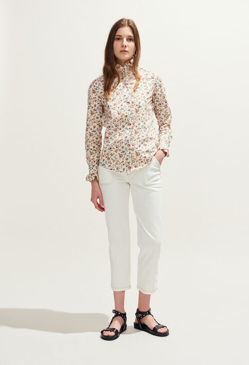 COLOMBE ENNA : Tops y camisas color IVOIRE