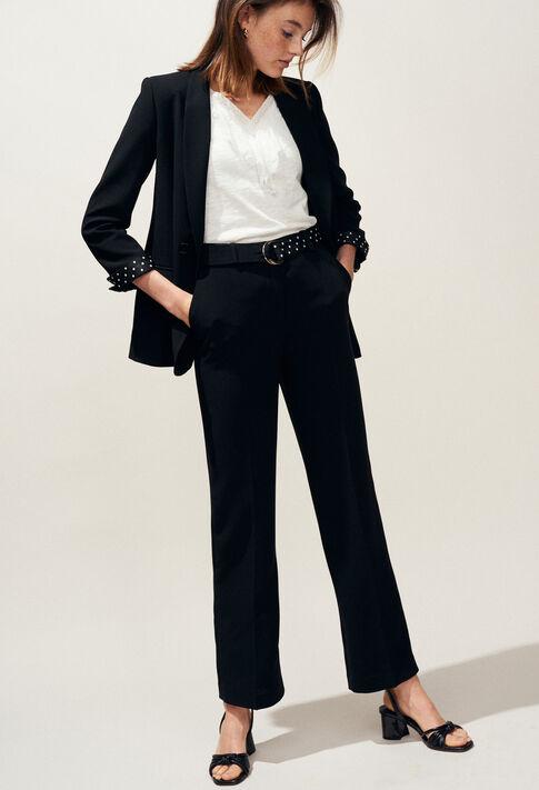 VOILE : Coats & Jackets couleur Noir