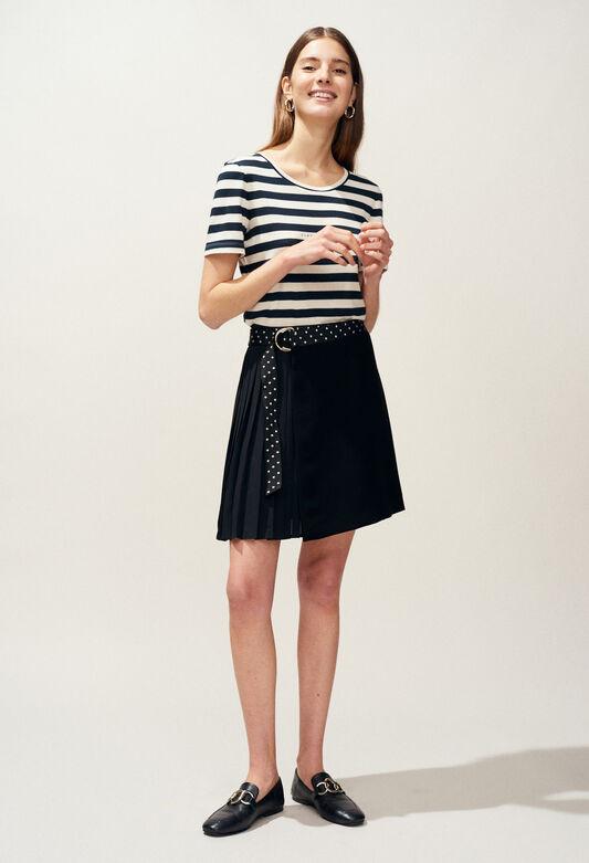 SEVRES : Jupes et Shorts couleur NOIR
