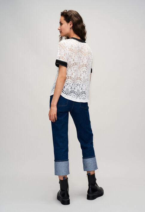 BANKSIAH19 : Tops y camisas color ECRU