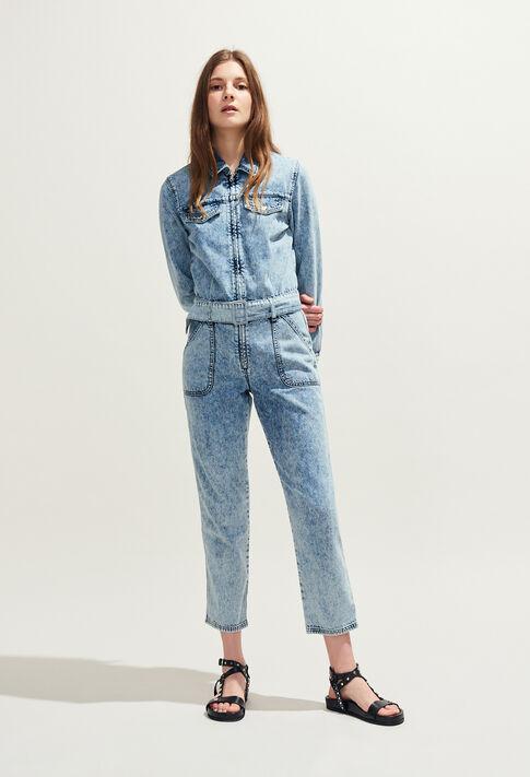 JACINTHY : combinaisons couleur Jean
