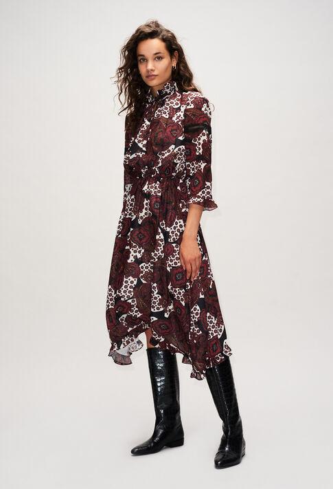RINALDAH19 : Robes couleur PRINT