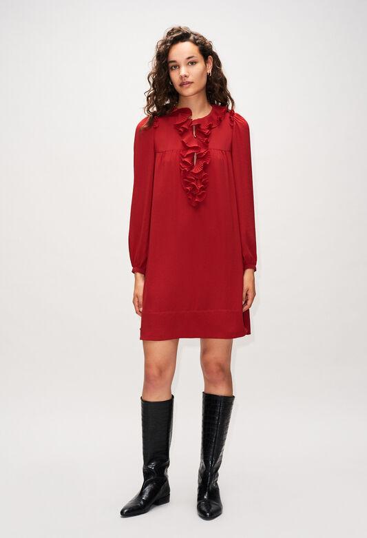 ROXANEH19 : Vestidos color CERISE