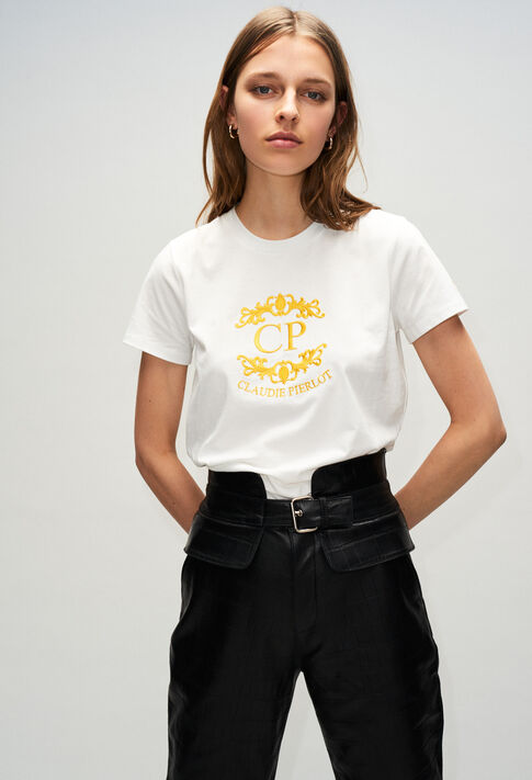 TOURNESOLH19 : Camisetas color ECRU