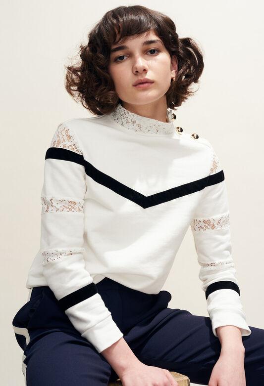 TAMI : Jerseys de punto y sudaderas color ECRU