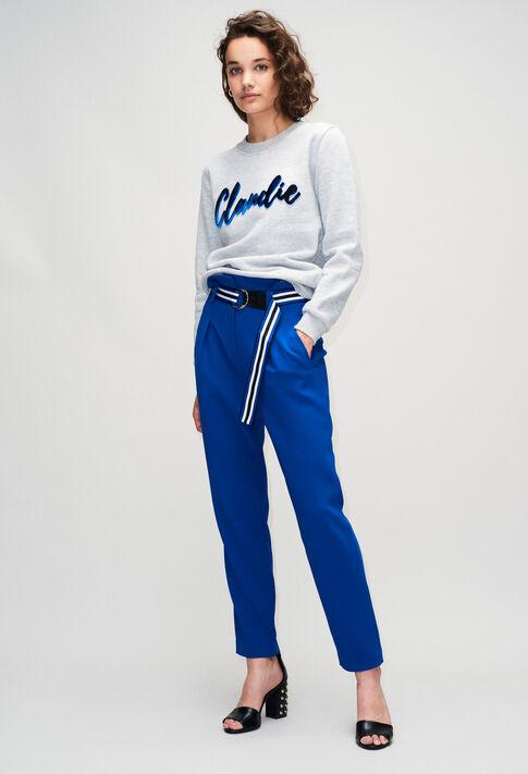 PAONH19 : Pantalones y vaqueros color BLEU ROI