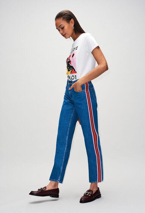 PRISCAH19 : Pantalones y vaqueros color JEAN