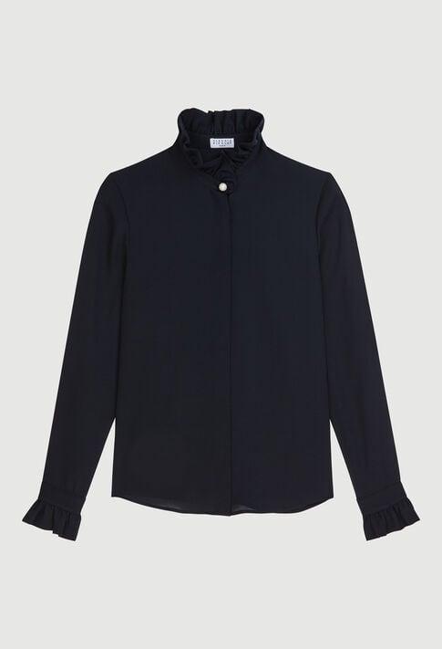 COLOMBEFLOUH19 : Tops y camisas color MARINE