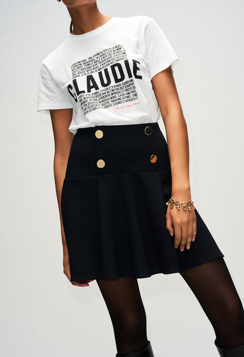 STACYH19 : Faldas y pantalones cortos color NOIR