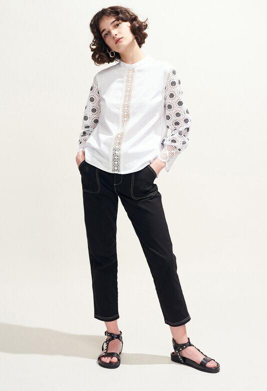 BAZIN : Tops et Chemises couleur BLANC