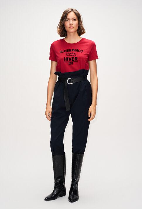 TRISTANH19 : Camisetas color CERISE