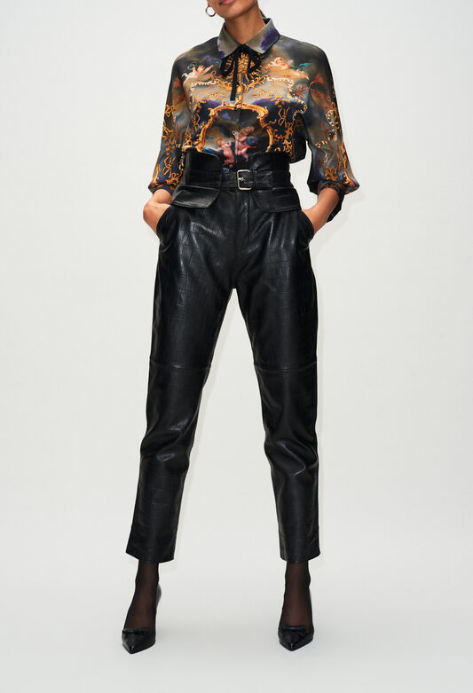 CARDAMONEH19 : Pantalones y vaqueros color NOIR