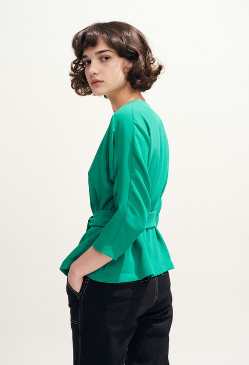 BAVIERE : Tops et Chemises couleur VERT VEGETAL