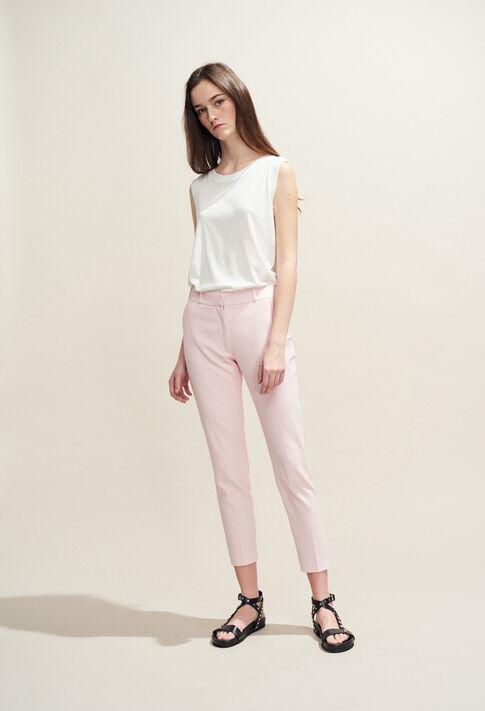 POUSSIN BIS : Pantalones y vaqueros color ROSE