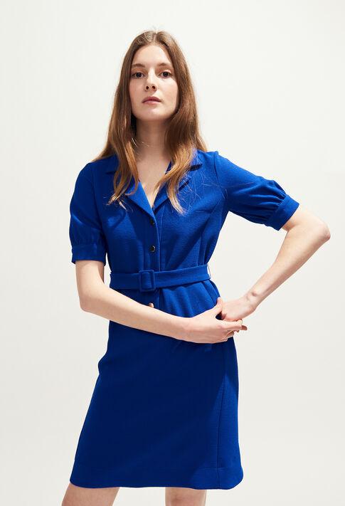 ROSEA BIS : Vestidos color INDIGO