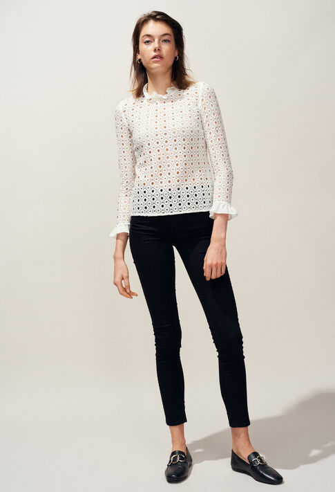 BARDBURY : Tops y camisas color BLANC