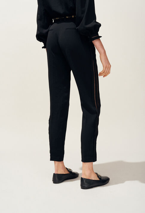 PAON : Pantalons Jupes & Shorts couleur NOIR