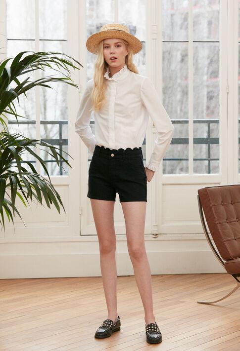 COLOMBINE TER : Tops y camisas color Blanc