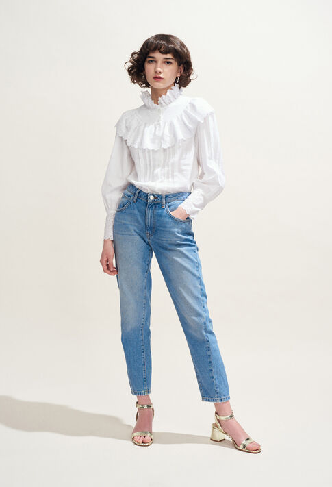 CALMI : Top y Camisas color BLANC