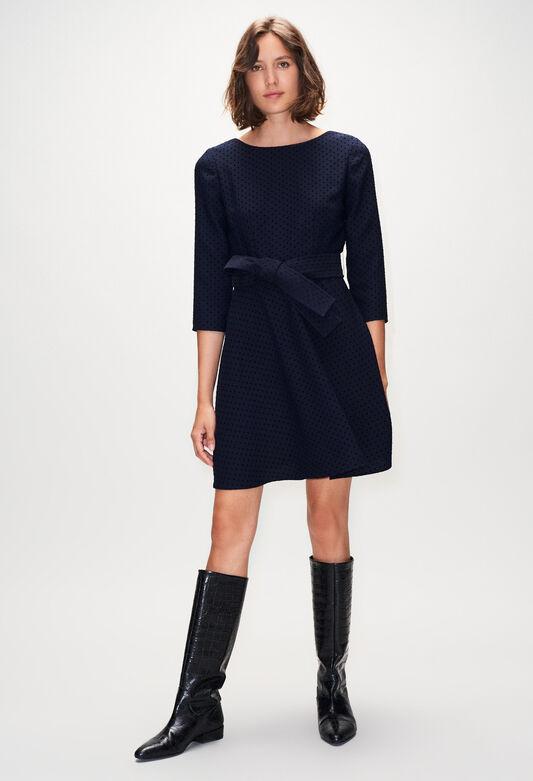 ROSELIEH19 : Vestidos color MARINE