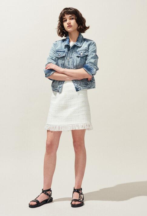 VANNA : Abrigos y chaquetas color Jean