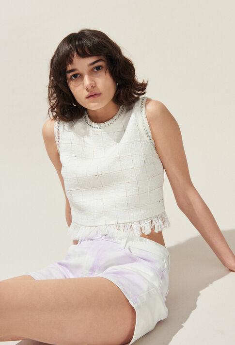 BEBOP : Tops et Chemises couleur Ecru